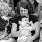 photo de baptême bébé garçon