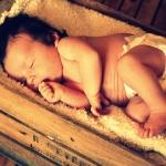 bébé cagette