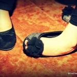 pied petite fille en balerine