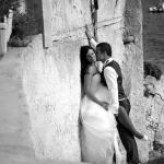 photo de couple amoureux après mariage