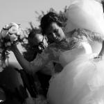 jeune mariés sur le vif