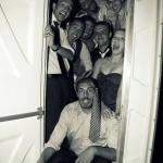 photo des invités des mariés dans WC
