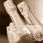 bouteilles champagne mariage
