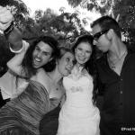 photo de groupe mariage décalé