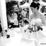 mariée chinoise et cadeaux de mariage