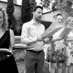 photo chorale mariage franco-anglais