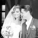 Portraits mariage noir et blanc