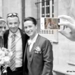 photo iphone des mariés