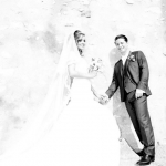 photo abstraite mariés
