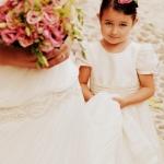 petite fille d'honneur mariage ventabren