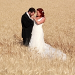 photo de mariés en provence