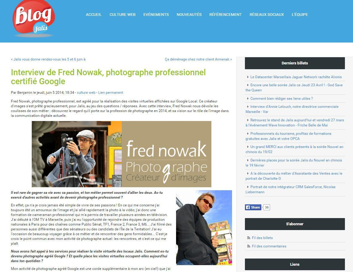 interview fred nowak jalis