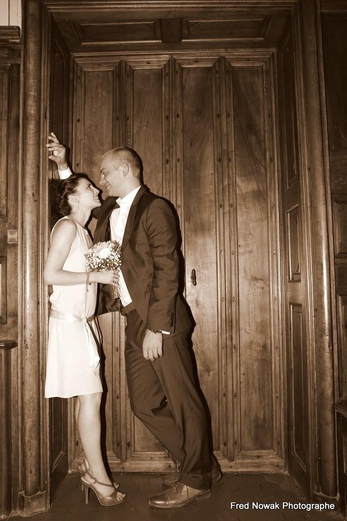photo de mariage sexy, prise de vue intime, mariés coquins