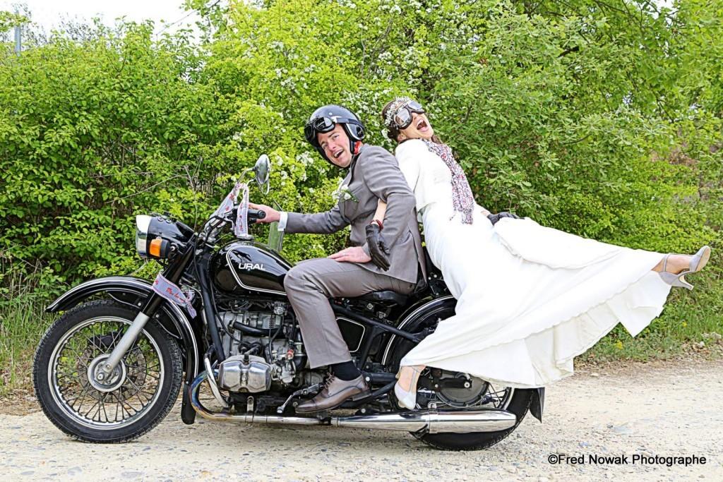 mariage aix en provence side car